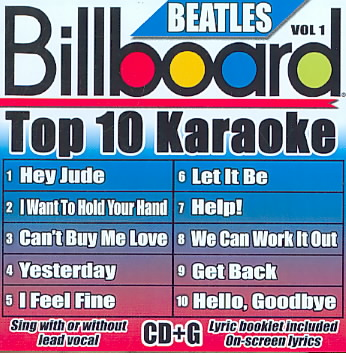 BILLBOARD BEATLES TOP 10 KARAOKE 1 BY BILLBOARD KARAOKE (CD)